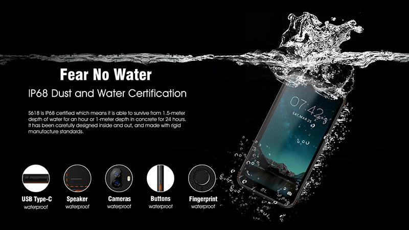 EL S618 rugged smartphone