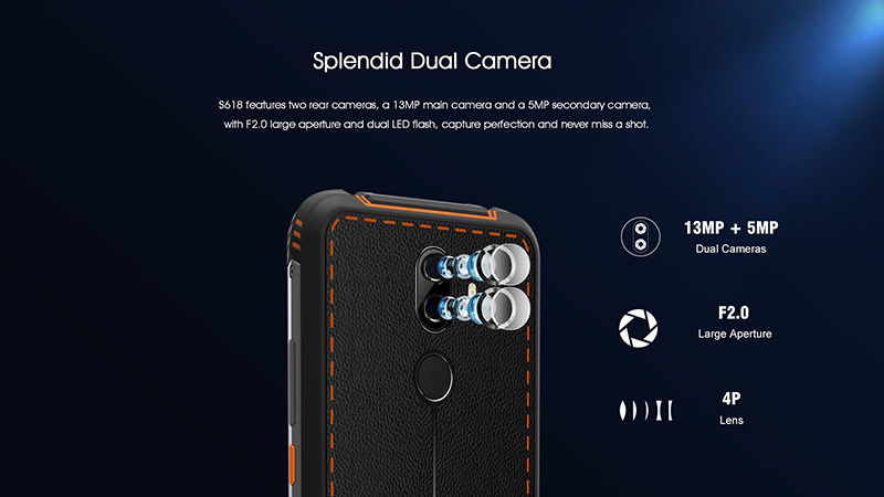 EL S618 rugged smartphone