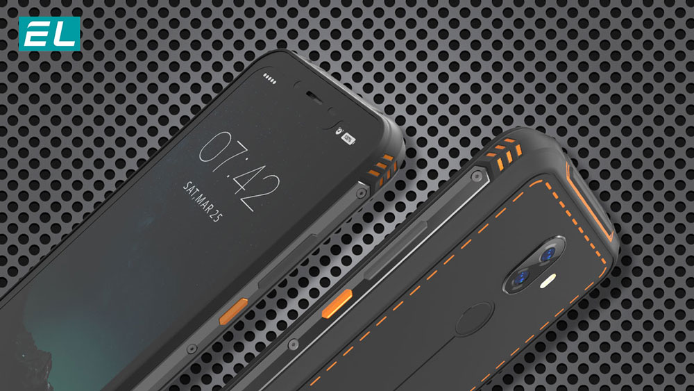 EL rugged smartphones can withstand extreme cold