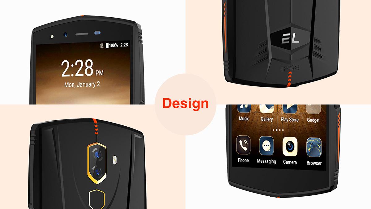 EL S55 rugged phone