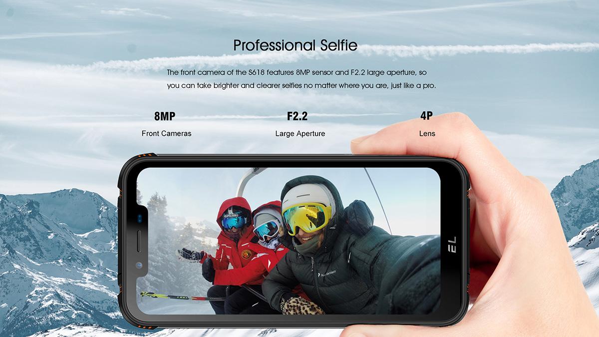 EL S618 rugged phone